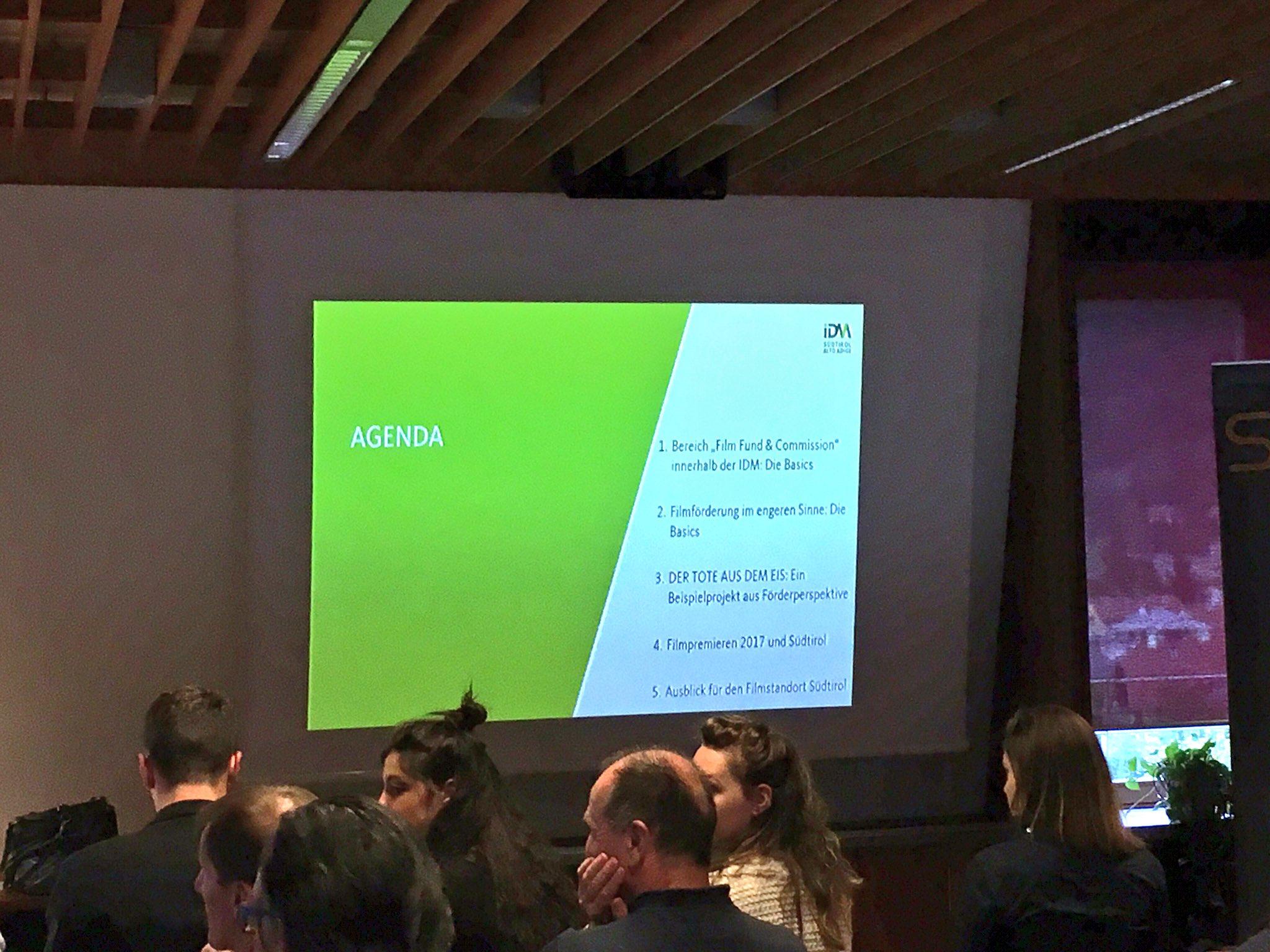 #tmcbz Filmförderung in Südtirol. Agenda von Frau Wertz: https://t.co/PDJND7Fs8k