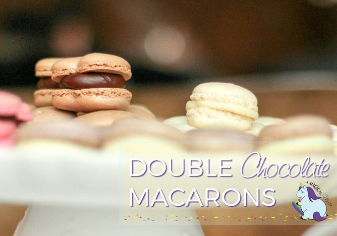 Crowd-Pleasing Must-Try Double Chocolate French Macaron Recipe