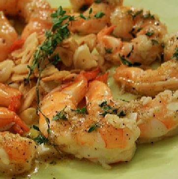Roasted Shrimp with Garlic