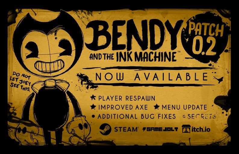 Bendy on Twitter: