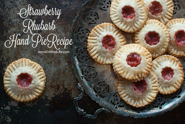 Strawberry Rhubarb Hand Pies Recipe