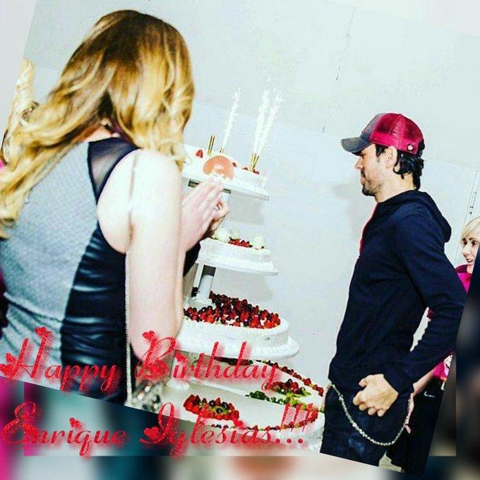 Happy Birthday Enrique Iglesias 42 te amooo!!!