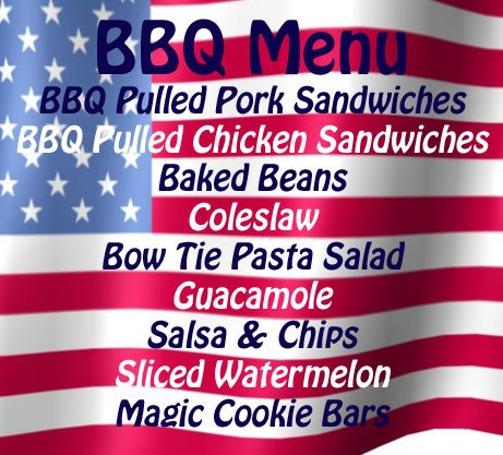 Memorial Day BBQ Menu and Recipes