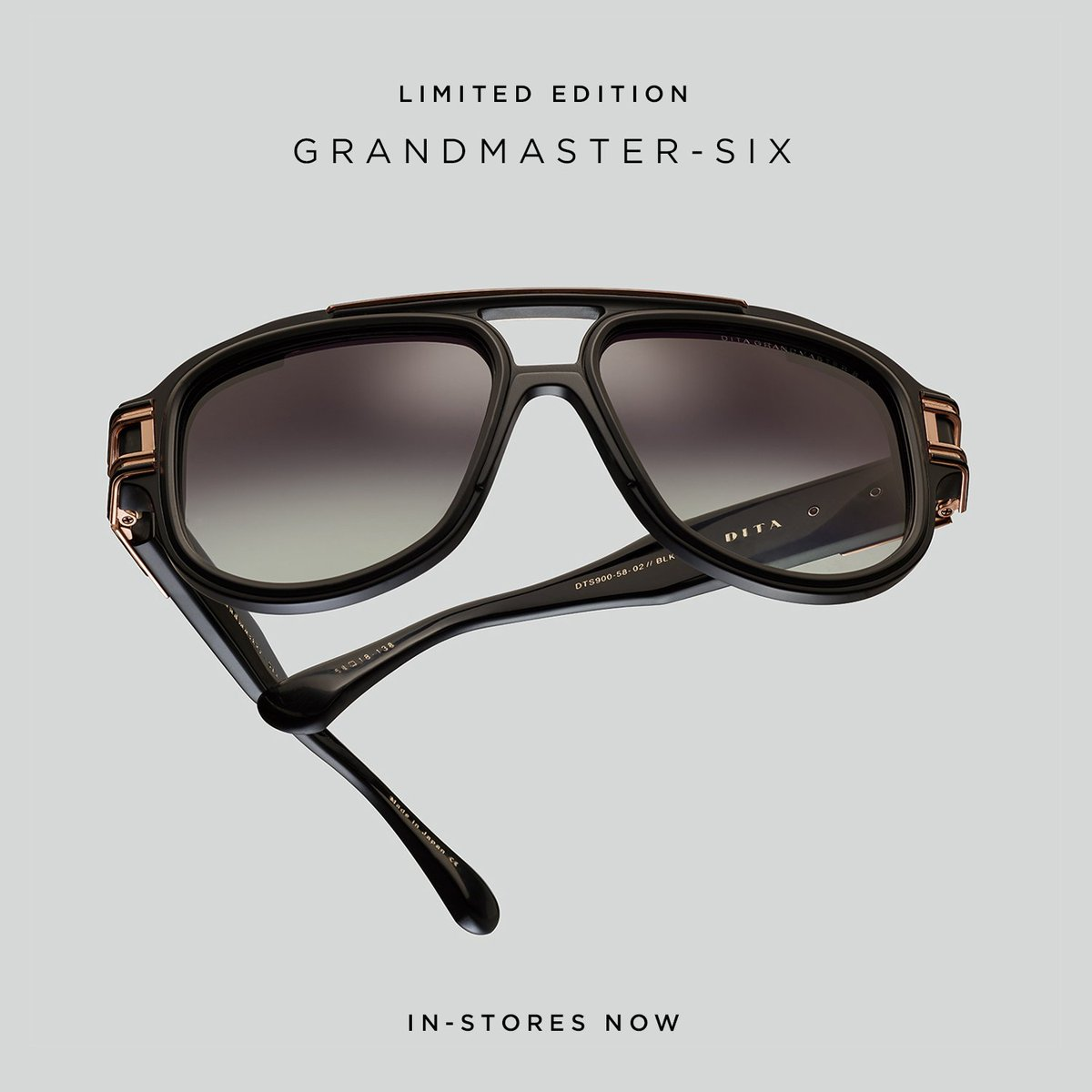 4610f15abd1 The LTD EDITION GRANDMASTER-SIX is available now at DITA flagships...and  rumor has it that this will be the final in the series.