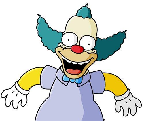 Reinherrwinkla on twitter links krusty rechts spasti - Clown simpson ...