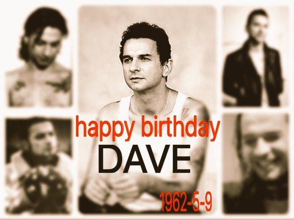 Dave Gahan Born on May 9, 1962 in Essex, England.  Happy Birthday Dear Dave Gahan!!!