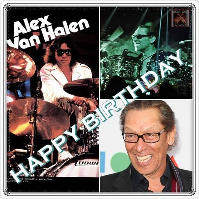 Happy 64th Birthday Alex Van Halen