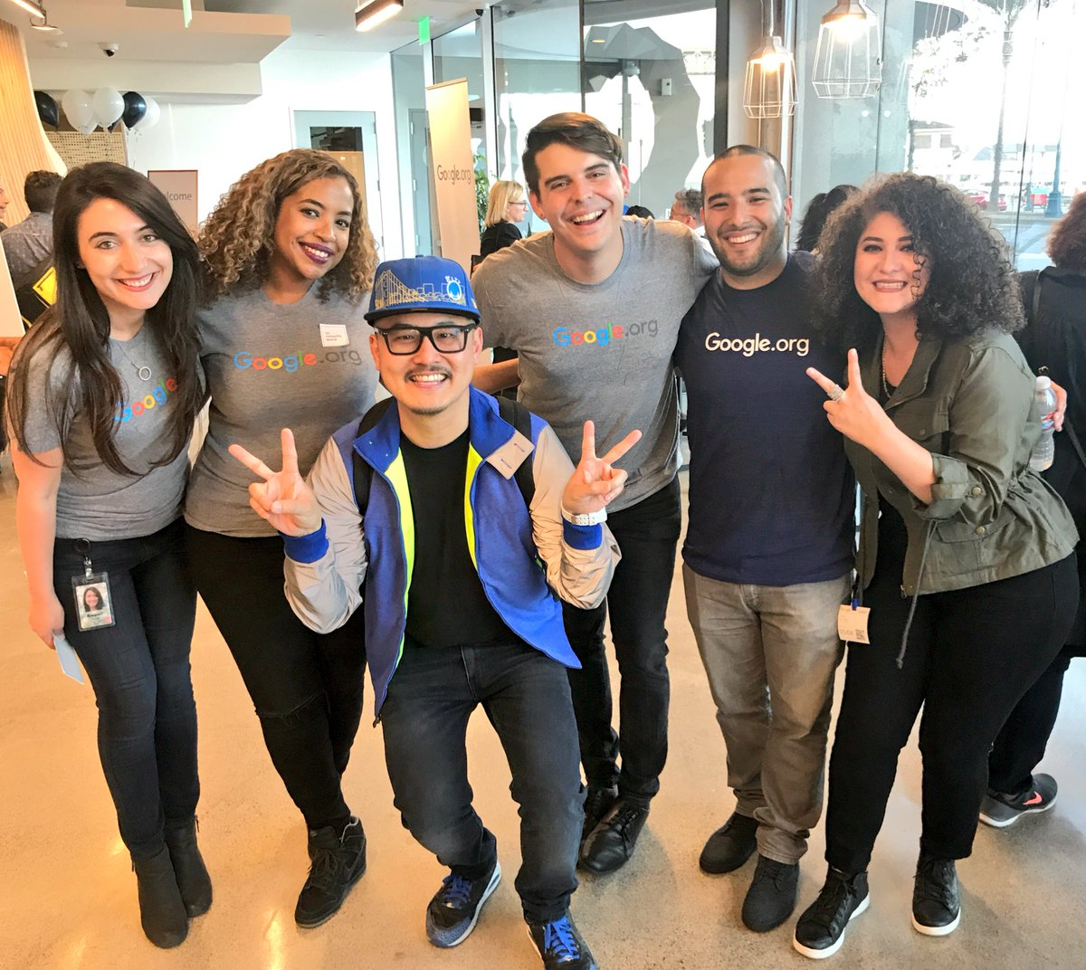 Best team in the house! @Googleorg #GoogleCommunitySpace @shaun_tai @OaklandDigital @bridgegood