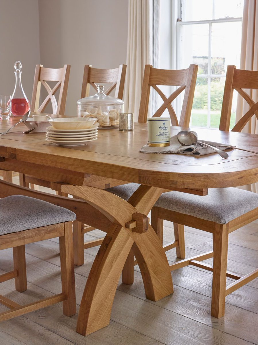 Oak Furniture Land On Twitter An Elegant And Impressive Dining Set That Will Wow Your Guests Shop Our Hercules Range Tco NsOktEl3gh