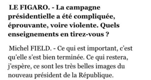 Mesdames et messieurs, le directeur DE L'INFO de l'ORT…euh, de France Télévisions 👅 https://t.co/r0RHoHPSoZ