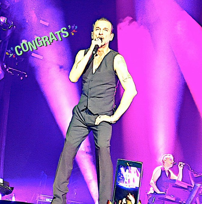 HAPPY BIRTHDAY DAVE GAHAN I hope you get a really great day