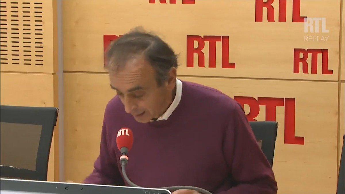 'Macron, c'est Peter Pan à l'Elysée !', dit Eric Zemmour dans #RTLMatin avec Yves Calvi