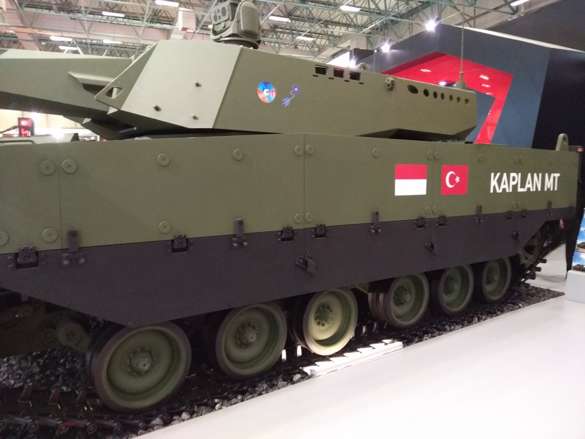تركيا تكشف عن الدبابه Kaplan MT لأول مرة خلال معرض إسطنبول للصناعات الدفاعية C_XkTX4XcAAv1fS