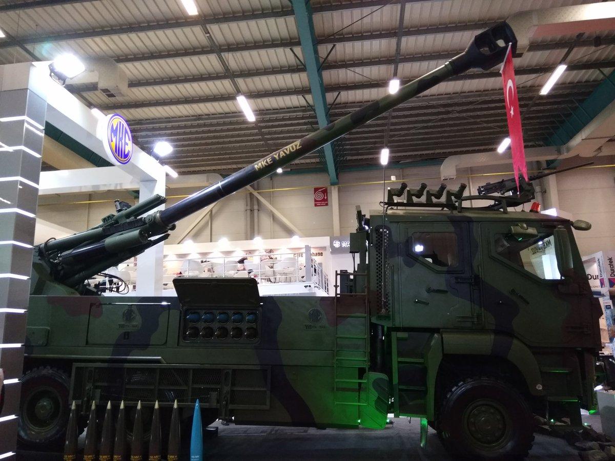 تركيا تكشف عن النظام المدفعي التركي  MKE Yavuz C_Xu-2yXgAAwSLG