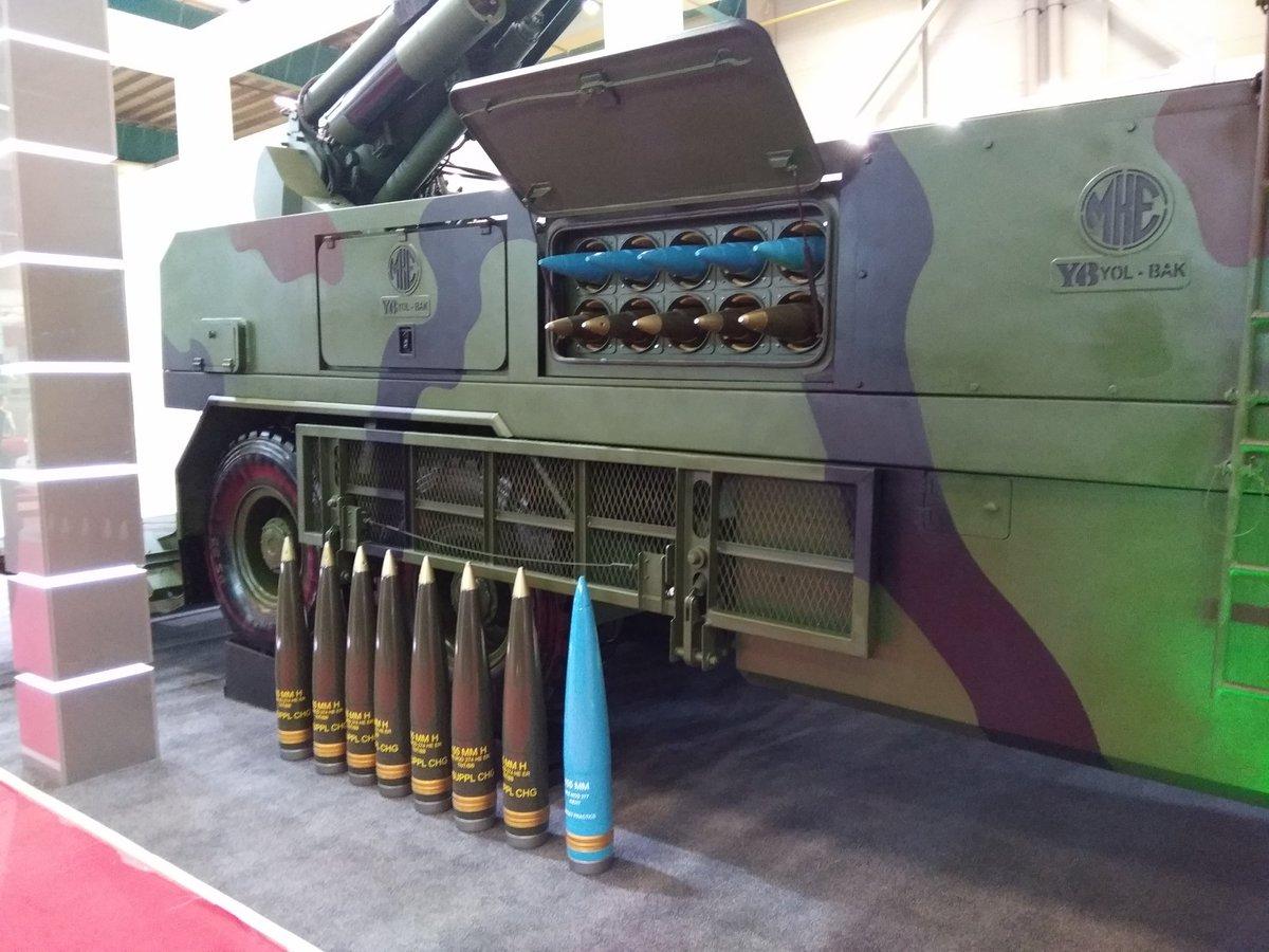 تركيا تكشف عن النظام المدفعي التركي  MKE Yavuz C_XvAT1W0AAHUrM
