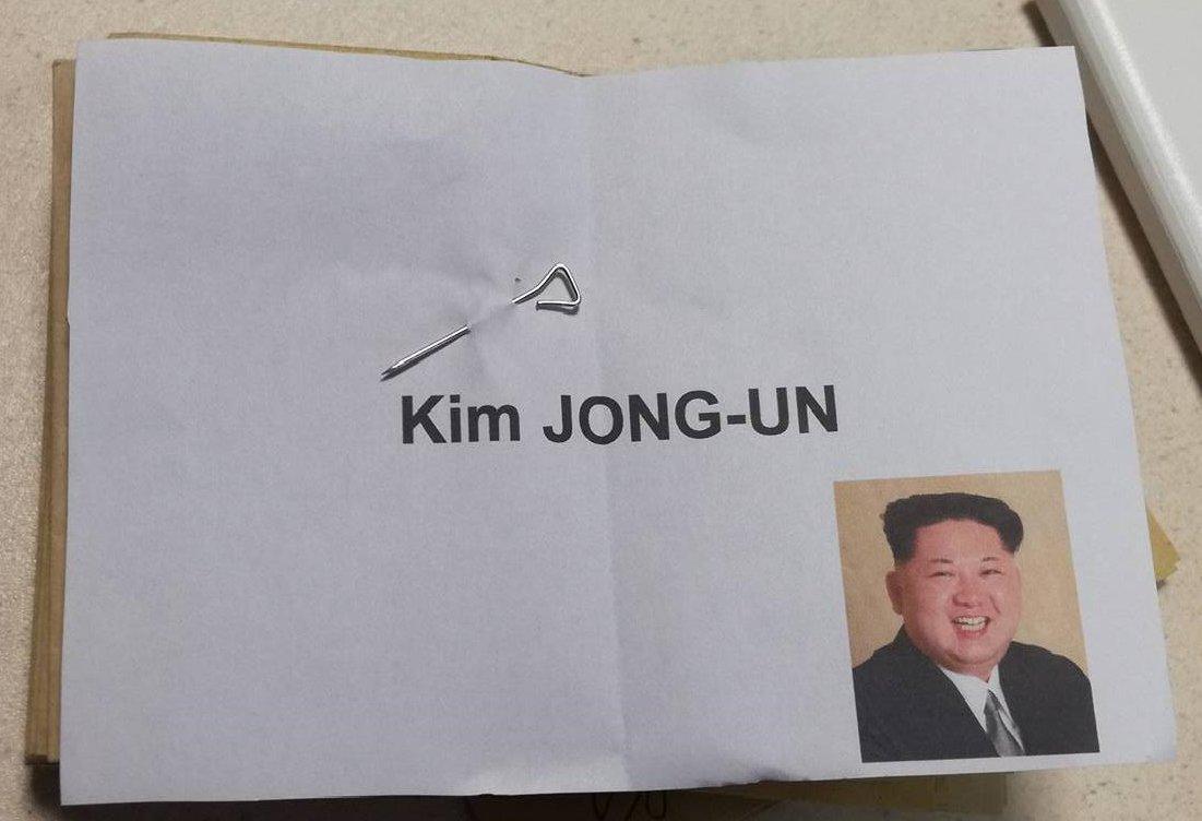 #rhone #Presidentielle2017 Une voix pour Kim Jong-Un à Vaugneray https://t.co/6wK62iwj7C
