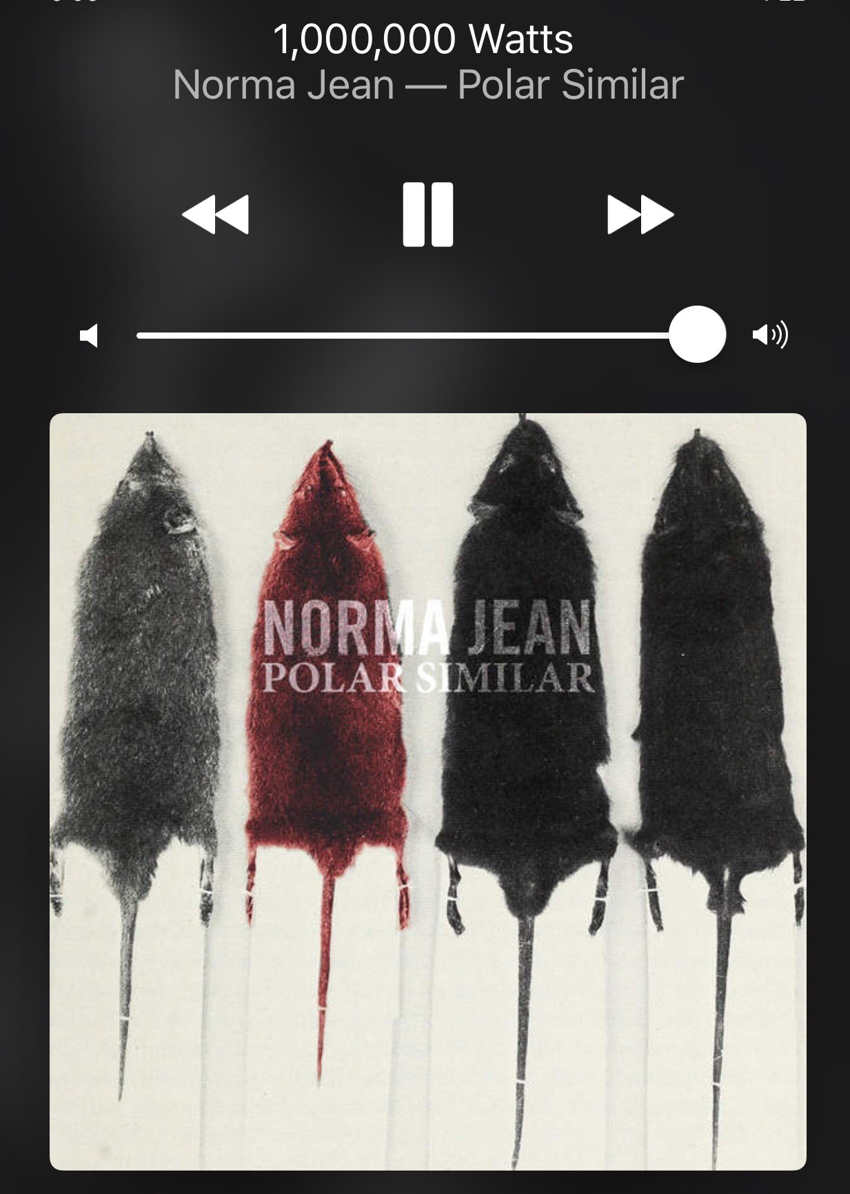 It's a @NormaJeanBand kinda morning. https://t.co/lGjv1irskt