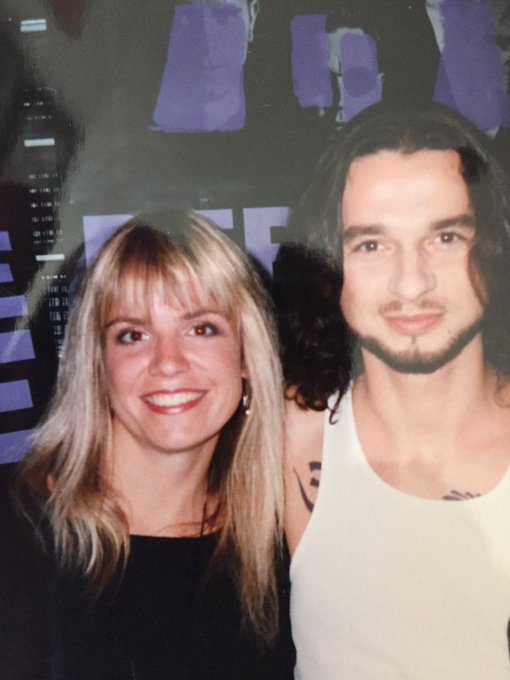 Ahhhh, the good old days!  Happy Birthday David Gahan from !  Stay in the MODE!