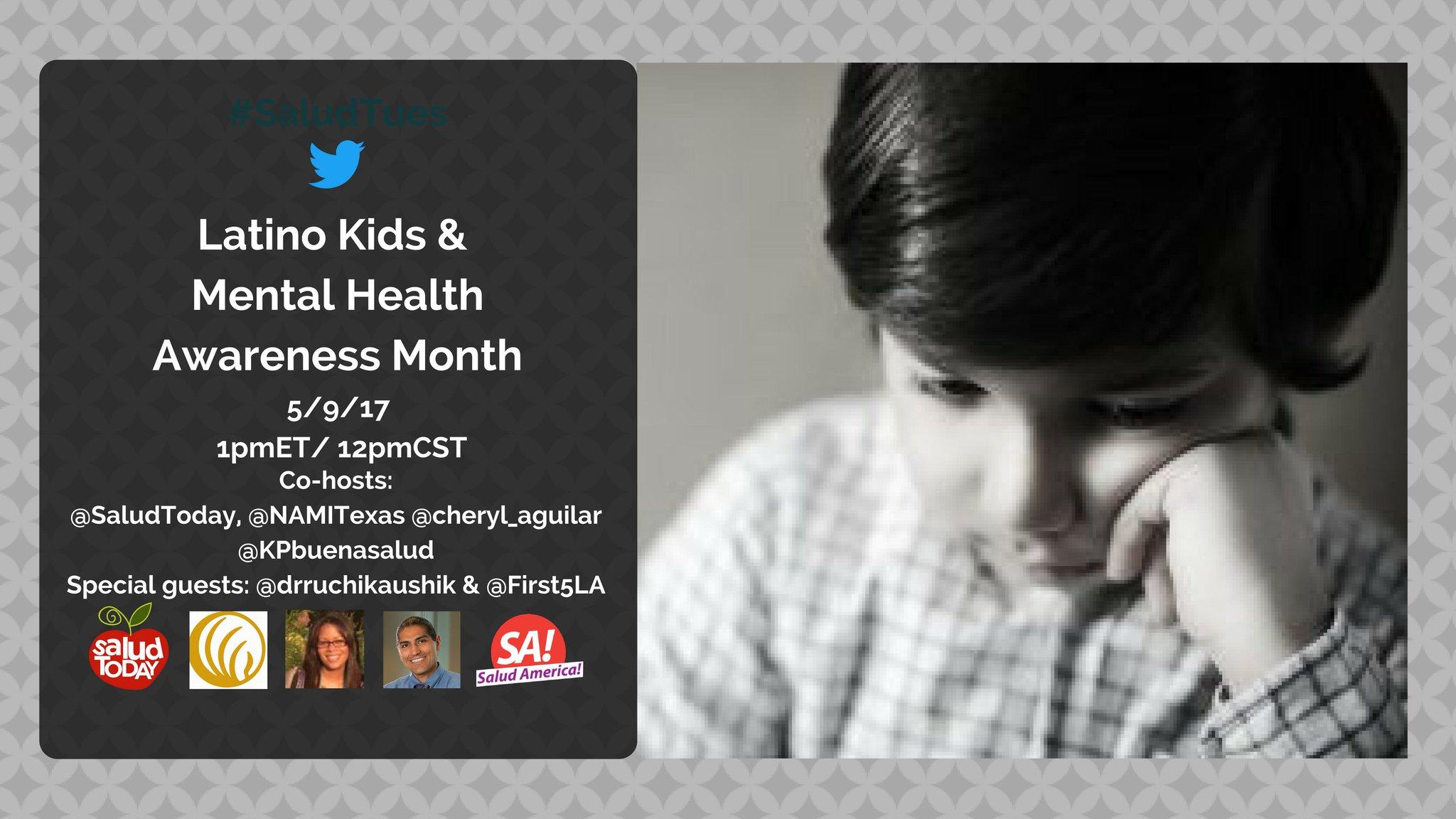 Thumbnail for #SaludTues Latino Kids & Mental Health Awareness Month