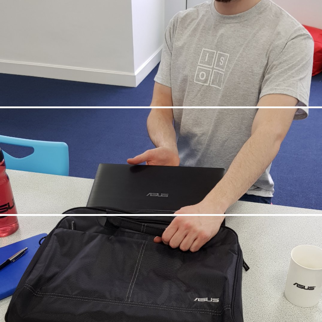 Win yourself an #ASUS #Nereus laptop bag! RT/Comment/Like to win! #fridayfreebie #WIN https://t.co/lKt46wU1MU