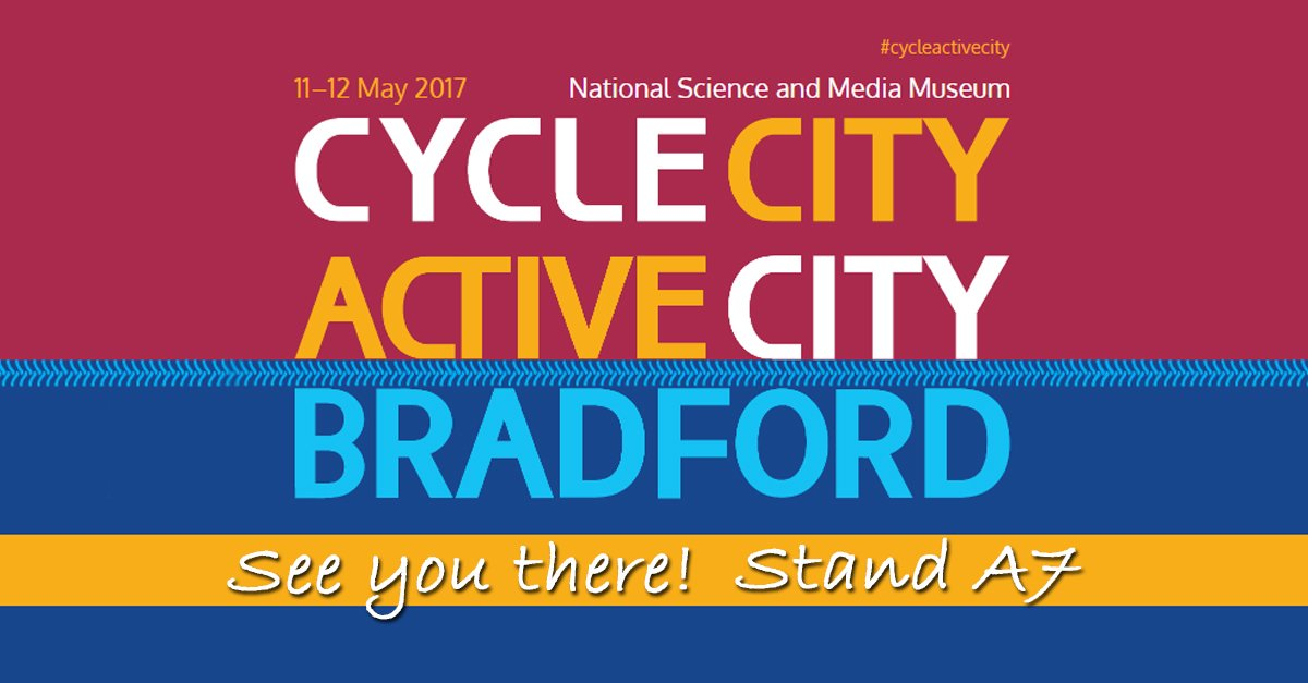 Looking forward to this week's #cycleactivecity in Bradford – see you there! https://t.co/Wx4mQ7Ga35 https://t.co/xKEGPkO9ti