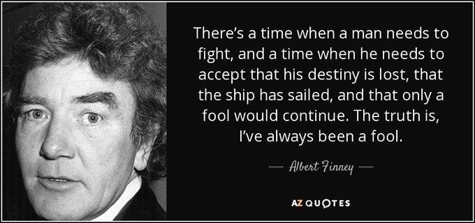 Happy birthday to Albert Finney!