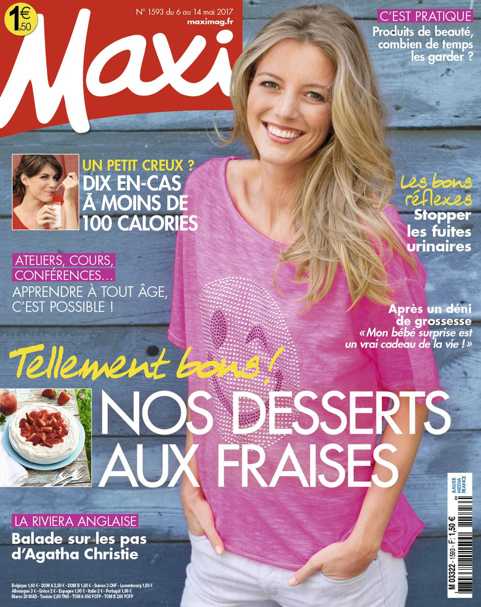 Maxi Mag On Twitter Le Nouveau Maxi Est En Kiosque Decouvrez