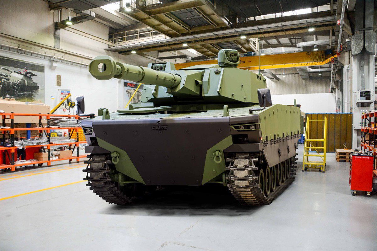 تركيا تكشف عن الدبابه Kaplan MT لأول مرة خلال معرض إسطنبول للصناعات الدفاعية C_YYiAOXsAMNK5R