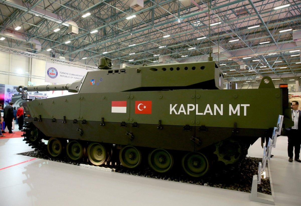 تركيا تكشف عن الدبابه Kaplan MT لأول مرة خلال معرض إسطنبول للصناعات الدفاعية C_YYj43WsAQWSdG