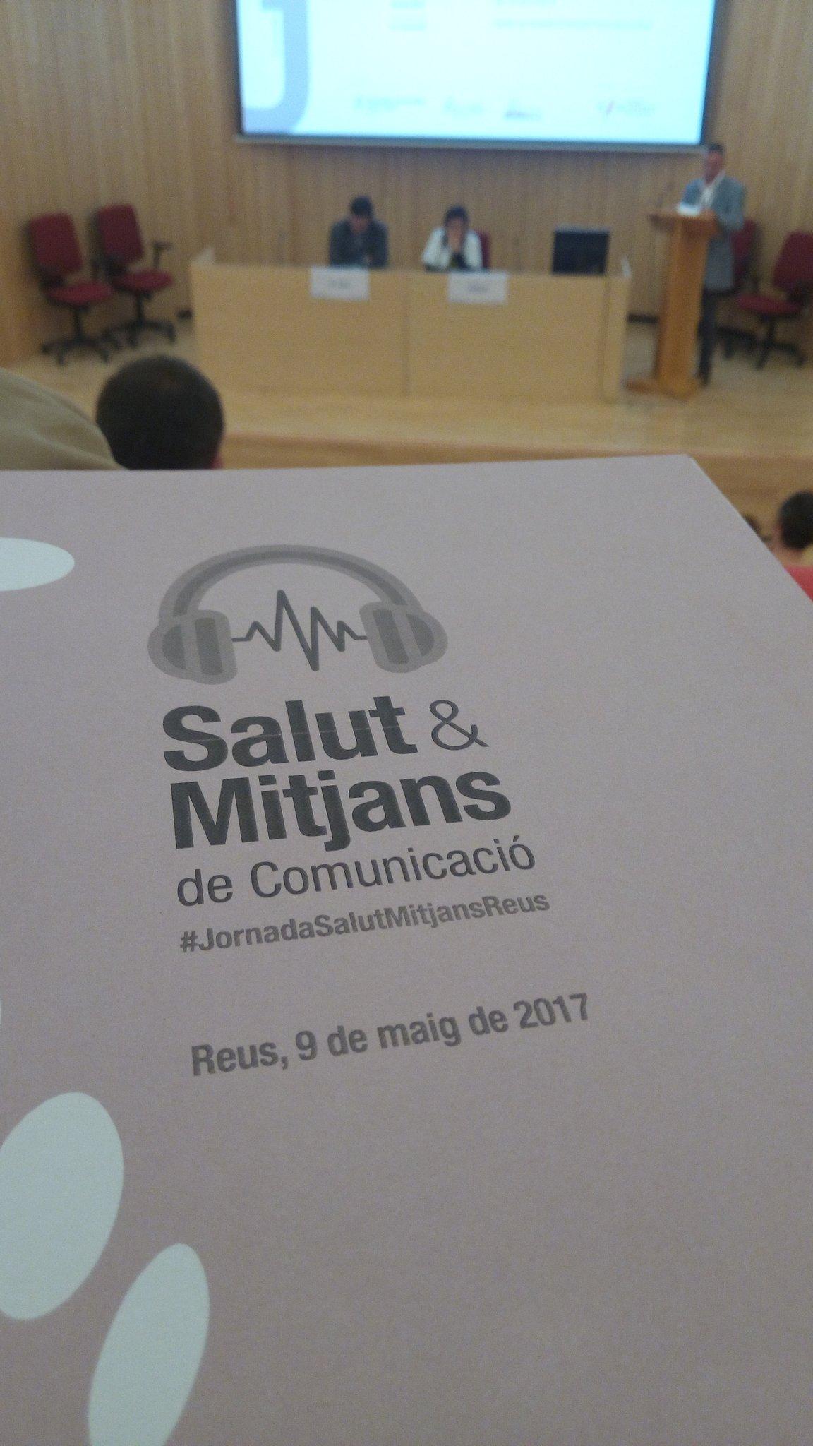 Comença la jornada sobre Salut & Mitjans de comunicació a l'Hospital Universitari Sant Joan de Reus. L'enceta el dr. Joan Guix https://t.co/RthxOaaNM0