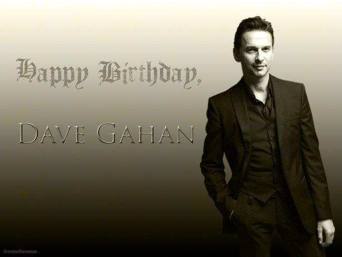 Happy Birthday Dave Gahan...
