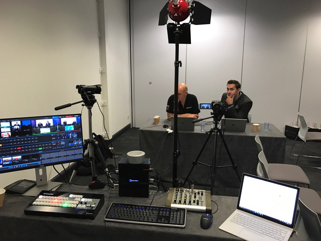 Broadcasting live from #AIsummit https://t.co/0uGLFzE77D