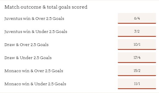 ASM need to score 2 goals+ to progress. They&#39;ve scored 149 so far! ASM Win &amp; Over 2.5 goals @ 15/2    http:// ow.ly/pK9U30byZaf  &nbsp;   #ASMJuve #UCL<br>http://pic.twitter.com/VYkMdiD5Dd