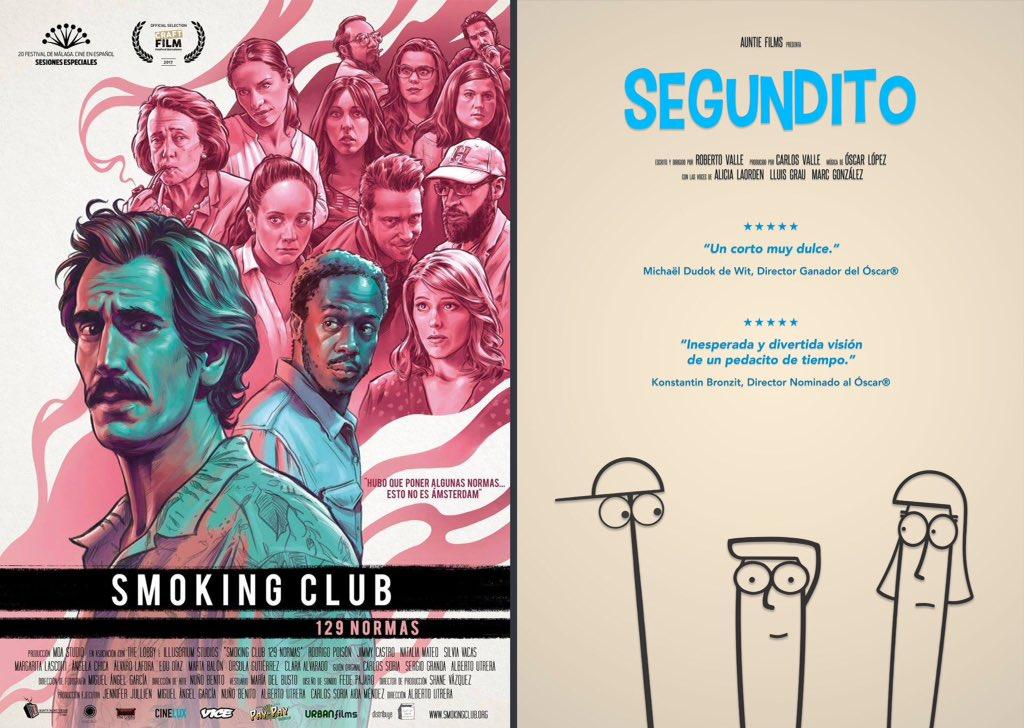 #Segundito se estrena en cines junto a la película @SmokingClub129 este Jueves 11 de Mayo a las 20:00 en @Cinesur Luz de Tajo (Toledo).pic.twitter.com/ ...