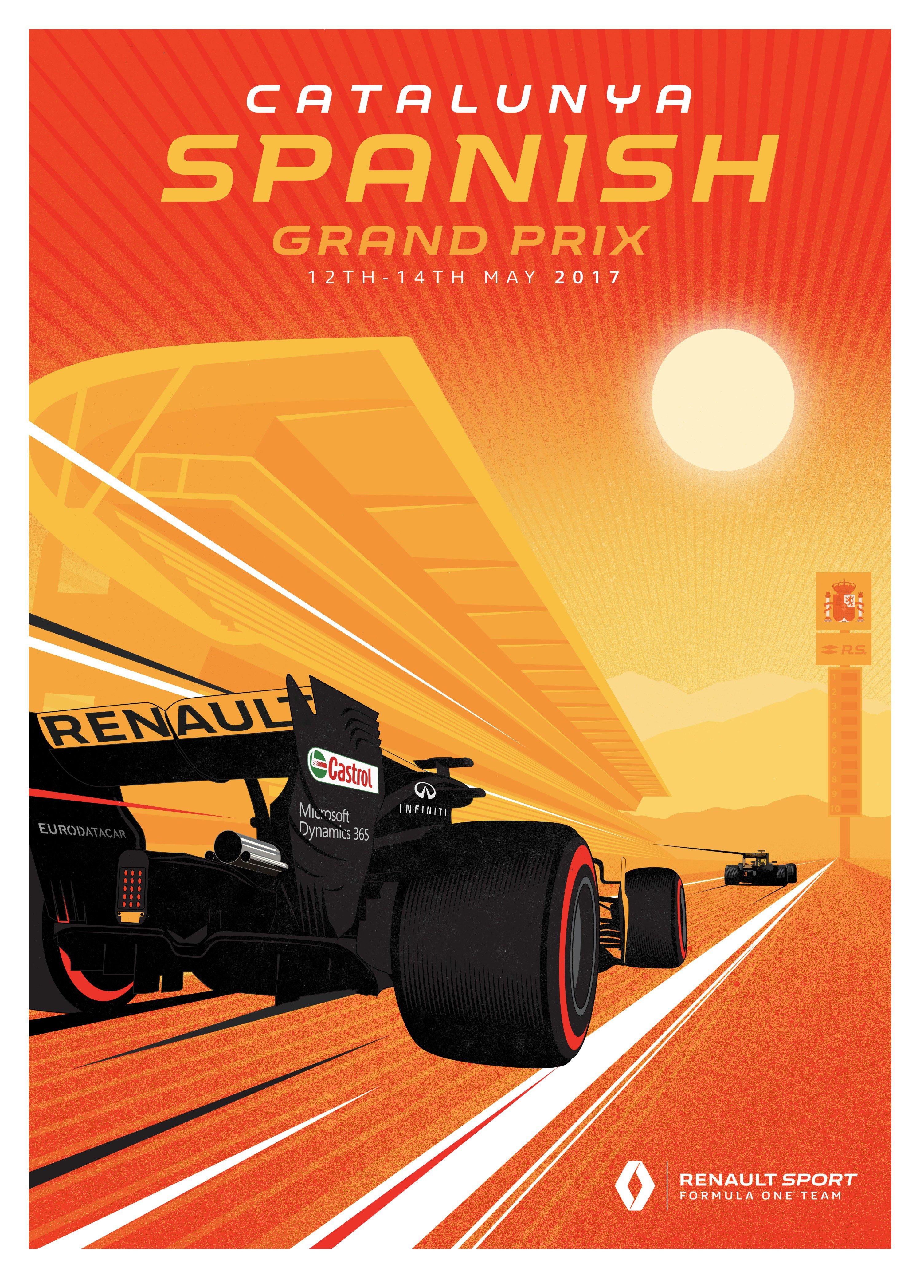 Ferrari Poster for Canadian GP : formula1
