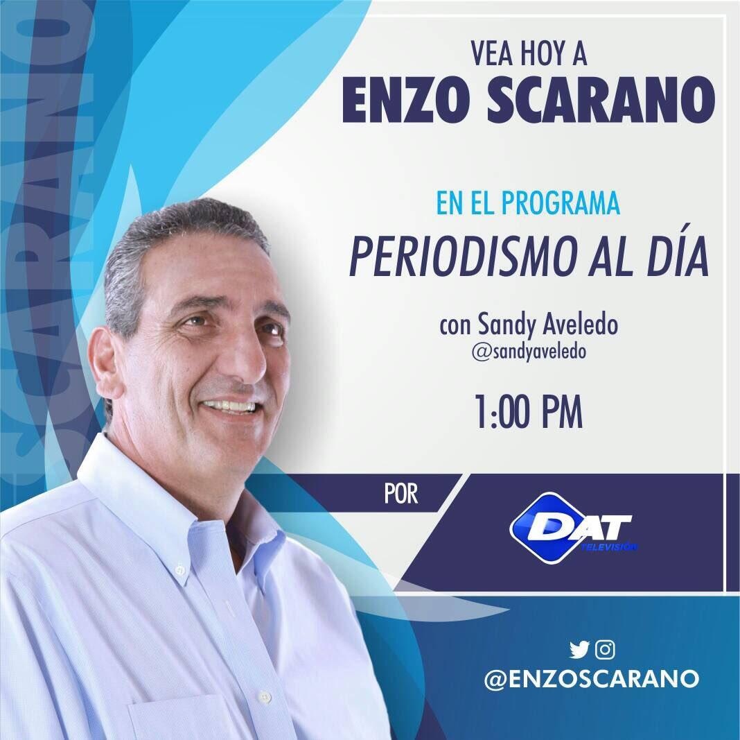 #Hoy #9Mayo estaré junto a @sandyaveledo en el programa #PeriodismoAlDía por @DatTvNoticias a la 1 pm.