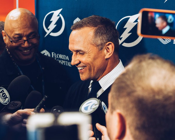 Get the man some Cookie Bites A very happy birthday to our own Steve Yzerman!