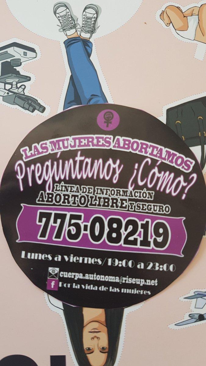 Manual para el aborto seguro y libre en Bolivia, y fono para preguntar acerca del aborto https://t.co/7lLdslVBHM https://t.co/crHLWrKxGx