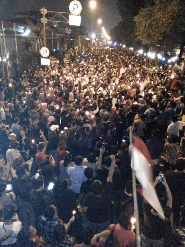 Cipinang malam ini. #FreeAhok https://t.co/EYZ0AN9IW2