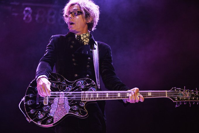 Tom Petersson for   Happy 67th birthday.