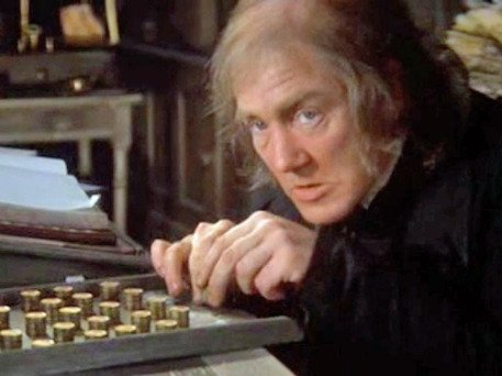 Happy Birthday Albert Finney -it\s just not Christmas until SCROOGE (\70) is dancing!