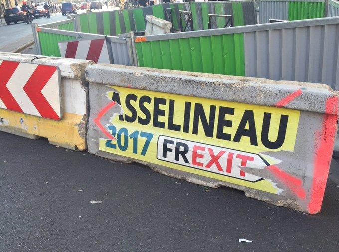 #Asselineau, c'était il y a 2 semaines seulement. Impression que c'était l'an passé.