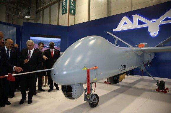 معرض الصناعات الدفاعية الدولي IDEF-17 ينطلق في إسطنبول.....تغطيه مصوره  C_ZooxUXcAANCxu