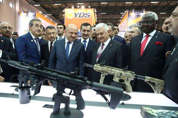 معرض الصناعات الدفاعية الدولي IDEF-17 ينطلق في إسطنبول.....تغطيه مصوره  C_ZooxUXsAQHk1V