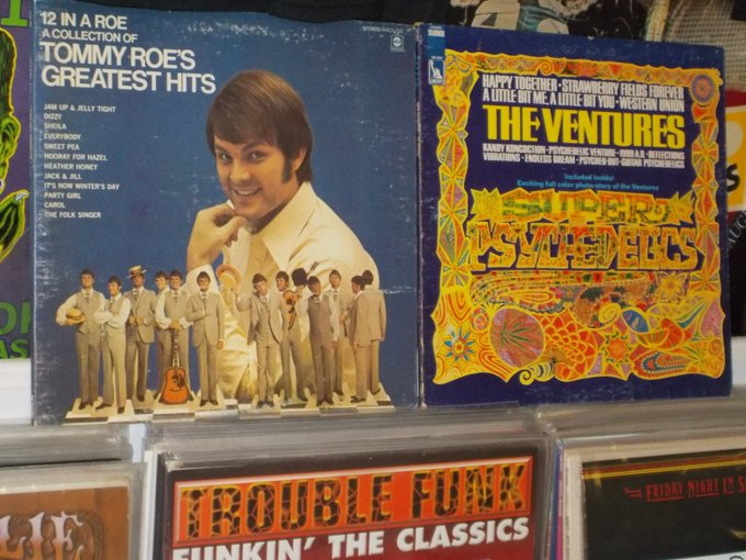 Happy Birthday to Tommy Roe & Nokie Edwards of the Ventures