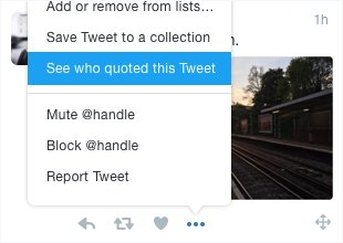 2/ You can now use TweetDeck to see what people are saying about a Tweet 💬