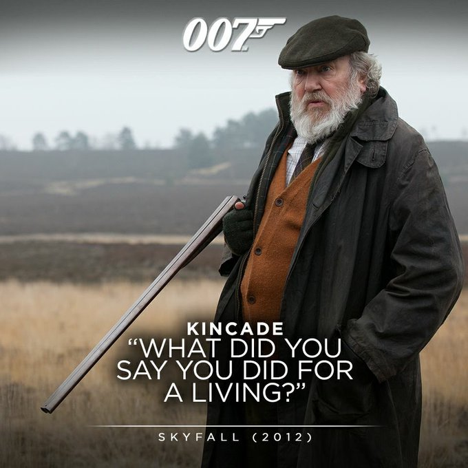 (Albert Finney) Happy Birthday! Kincade, Guardian of the SkyFall Property.