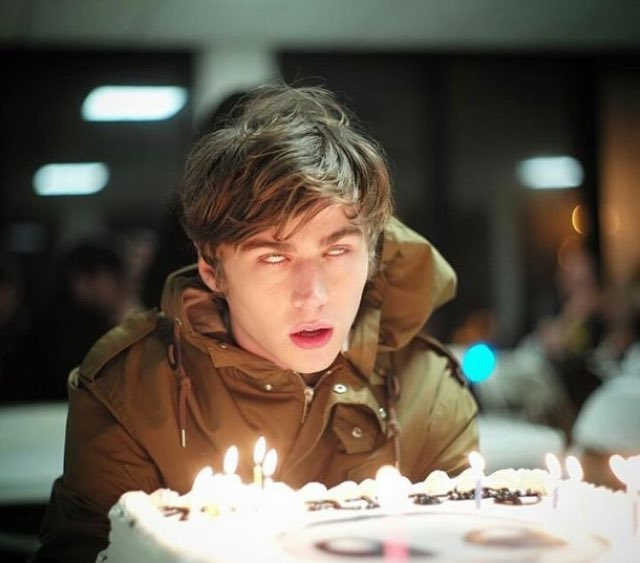 . happy birthday to an adorkable human being, Miles Heizer. Keep those eyes rolling