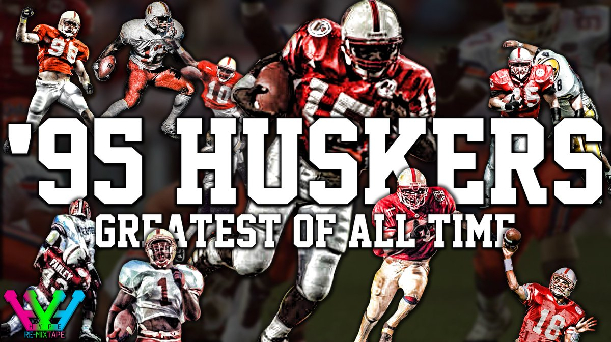 '95 Huskers highlight tape...The greatest of all time! https://t.co/L9ZcECOaCk