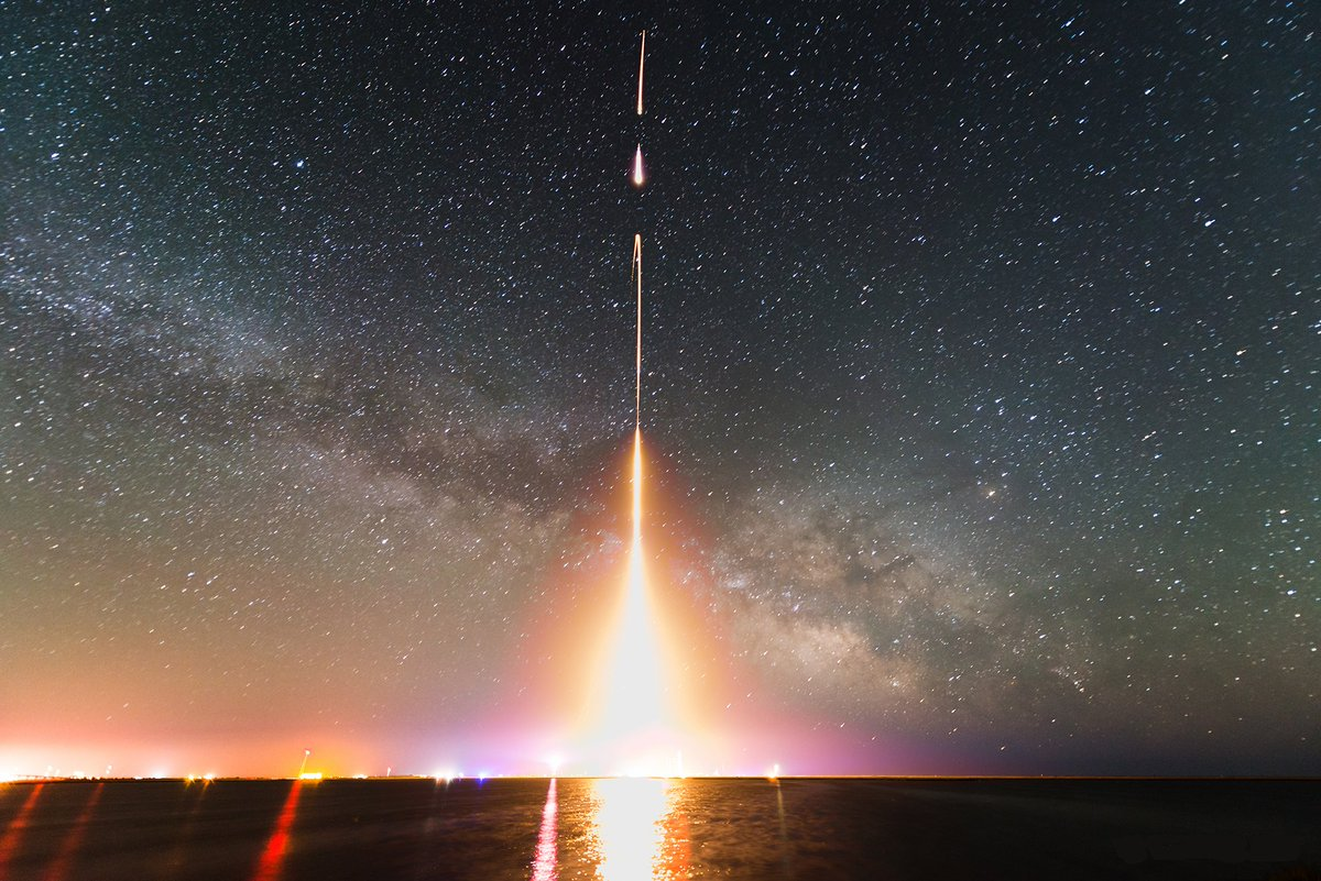 Do not go quietly into the night. Rise up with fire and a roar.  image: CIBER Rocket launch by T. Array / U Tokyo